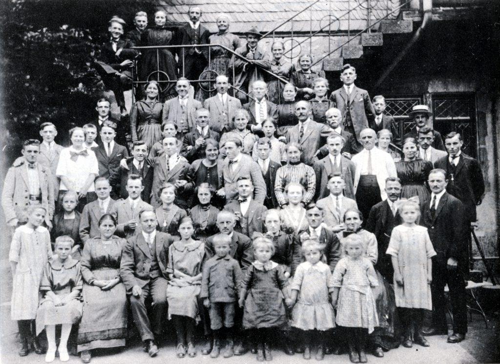 """Arbeiter-Gesangverein """"Eintracht"""" im Jahre 1926"""