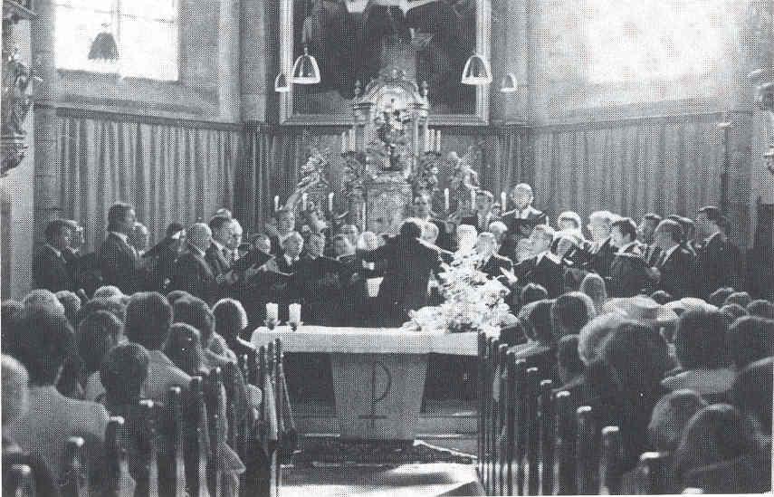Kirchenkonzert am 30. Juni 1985 in Molln/Oberösterreich