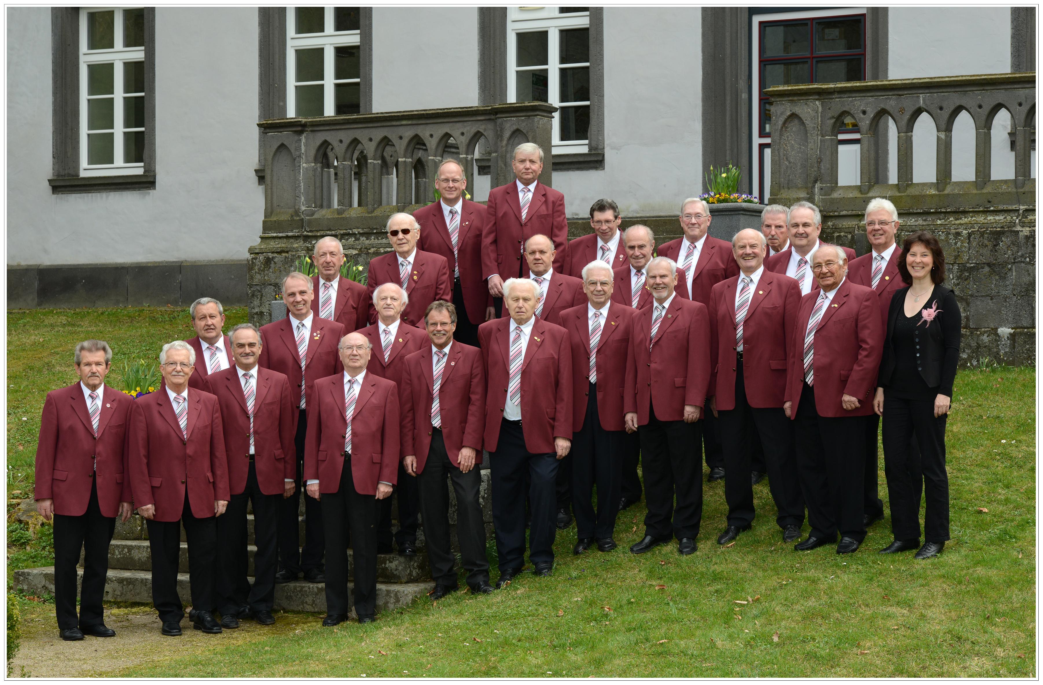 Männerchor Foto: Ulrike Richter-Lies
