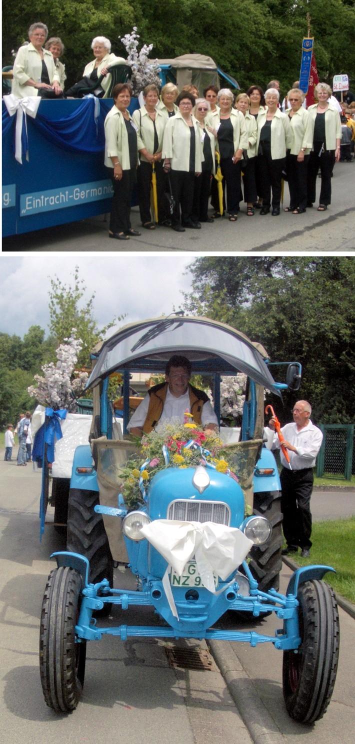 Jubiläumsfest 100 Jahre FFW Großen-Buseck - Impressionen vom Festzug