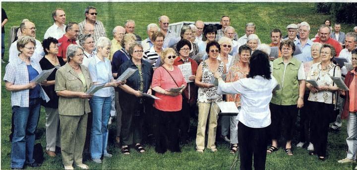 Der gemischte Chor »Eintracht Germania«