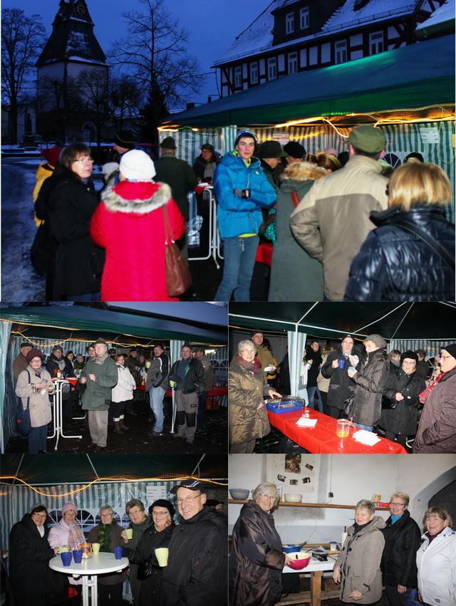 Impressionen vom Winterglühen 2014