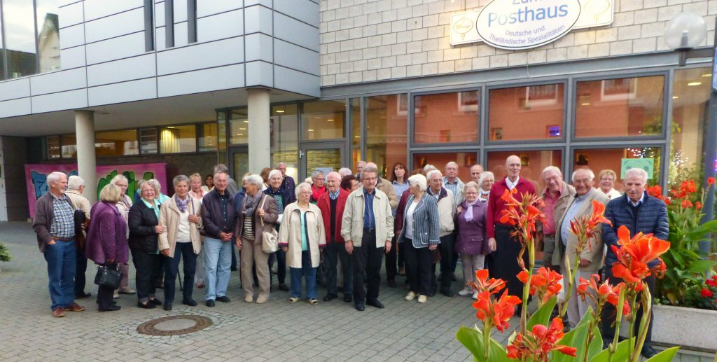 Sängervereinigung Eintracht-Germania Großen-Buseck in Weilburg