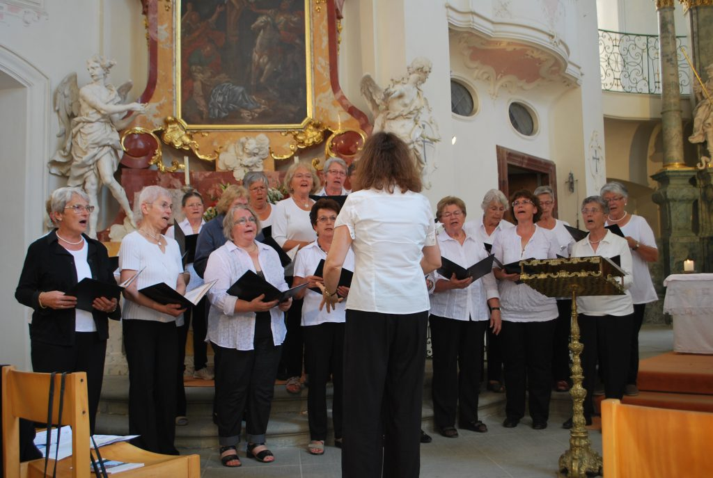 Auftritt in der Schloßkirche zu Mainau